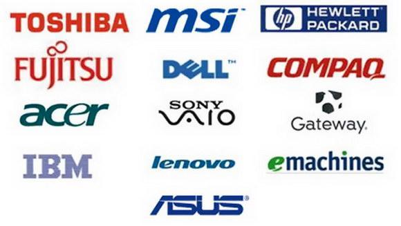Computer Brands We Service - Toledo Computer Repair