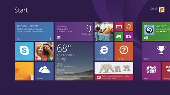 Windows 8.1 Startup Screen